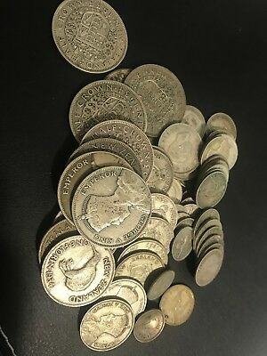 5.05 Troy Ounces Silver of Gold New Zealand Silver Coins .500 Silver