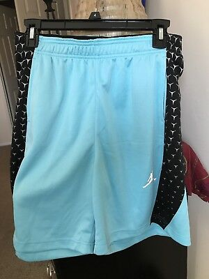 XXL Youth Jordan Jumpman Athletic Shorts Tide Pool Blue 452866-U88 Men's Medium