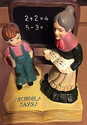 "Vintage PRICE ""School Days"" Music Box; Japan"