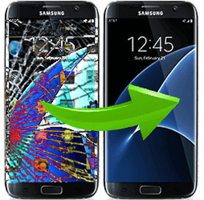 Samsung note 5 lcd front glass screen cracked Repair Service 180 DAYS WARRANTY