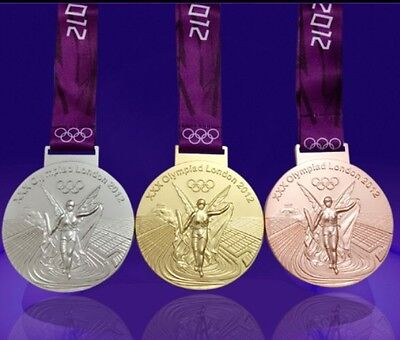 Full Set Of Medals 2012 London Olympic GOLD+SILVER+BRONZE Very Reasonable Price