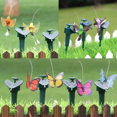 Outdoor Dancing Flying Solar Power Garden Yard Path Xmax Decoration Kid Gift NN