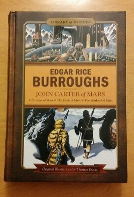 John Carter of Mars Omnibus by Edgar Rice Burroughs, Illustrated Hardcover