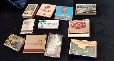 Antique Matchboxes with Matches Inside
