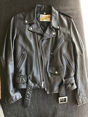 Schott perfecto Leather Motorcycle jacket 36