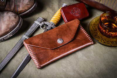 New RRL CONCHO WEAVE WALLET Vegetable-tanned Italian leather Handecrafted