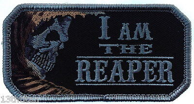 Hook patch I am the reaper Tactical Morale Airsoft Matthew Operator
