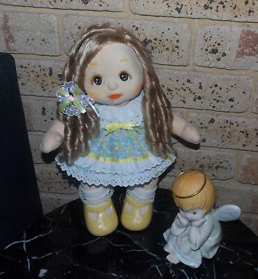 My Child doll 💕 Beautiful 2 toned Aussie Ashblond Ringlets 💕 sold undressed