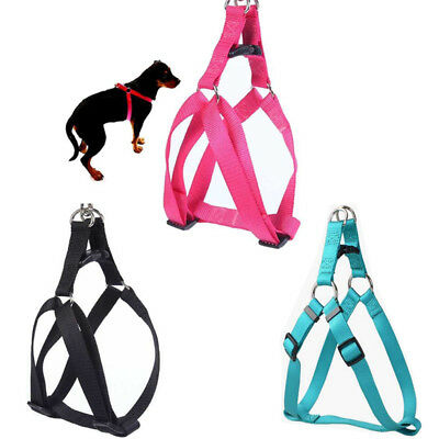 Dog Pet Cat Control Harness Step in Safety Strap Training Vest Walk Collar S-XL