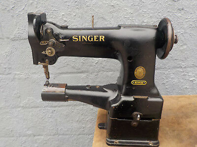 Industrial Sewing Machine Model Singer 153w102 ,cylinder- Leather