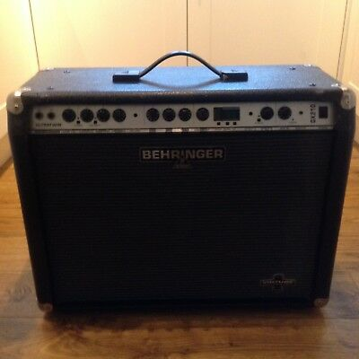 """BEHRINGER GX210 2x10"""" Combo Amp for Electric Guitar with EFFECTS etc"""