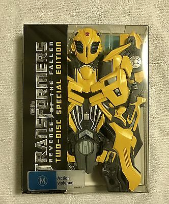 TRANSFORMERS REVENGE OF THE FALLEN Bumblebee Boxset & DARK OF THE MOON DVD