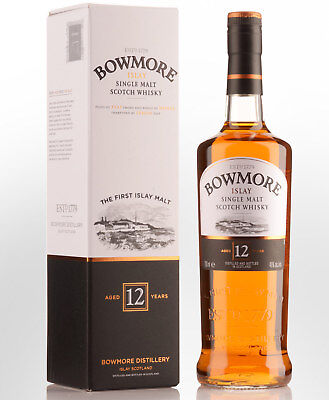 Bowmore 12 Year Old Single Malt Scotch Whisky (700ml)