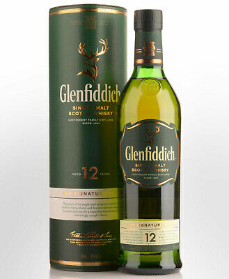 Glenfiddich 12 Year Old Single Malt Scotch Whisky (700ml)