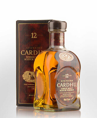 Cardhu 12 Year Old Single Malt Scotch Whisky (700ml)