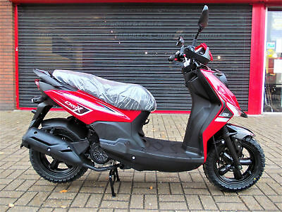 Sym Crox 125 Scooter Brand New 5 Year Warranty Finance Authorised Dealer