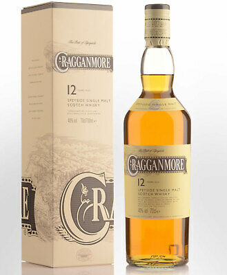 Cragganmore 12 Year Old Single Malt Scotch Whisky (700ml)