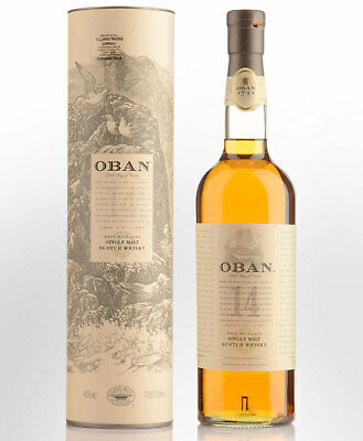Oban 14 Year Old Single Malt Scotch Whisky (700ml)