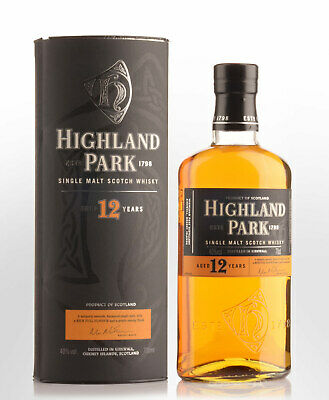 Highland Park 12 Year Old Single Malt Scotch Whisky (700ml)