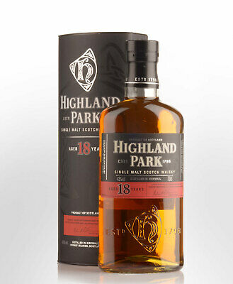 Highland Park 18 Year Old Single Malt Scotch Whisky (700ml)