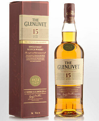 Glenlivet 15 Year Old French Oak Reserve Single Malt Scotch Whisky (700ml)