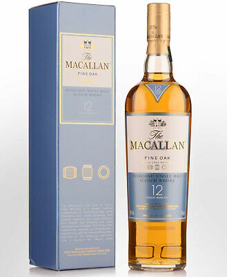 The Macallan Fine Oak 12 Year Old Single Malt Scotch Whisky (700ml)