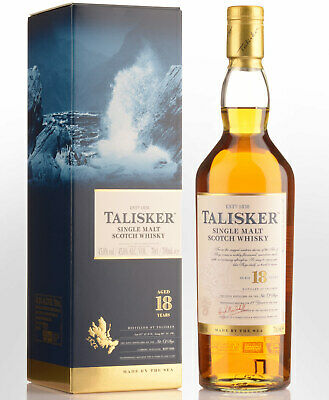 Talisker 18 Year Old Single Malt Scotch Whisky (700ml)