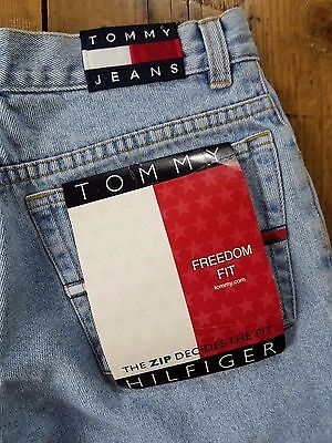 "Tommy Hilfiger Women's Mom Jeans Sz 18 Waist 29"" Vintage *FLAWS* Freedom Fit h"