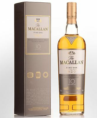 The Macallan Fine Oak 10 Year Old Single Malt Scotch Whisky (700ml)
