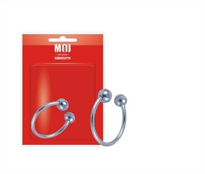 """MOI Amsterdam """"The Open Corona"""" Stainless Steel Glans Head Penis Ring 30 mm."""