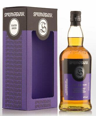 Springbank 18 Year Old Single Malt Scotch Whisky (700ml)