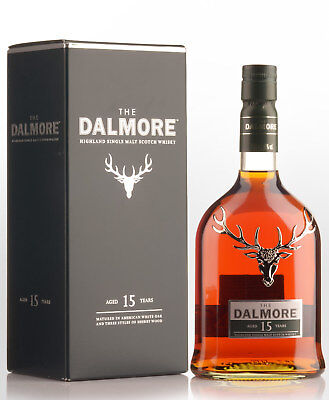 Dalmore 15 Year Old Single Malt Scotch Whisky (700ml)