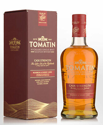Tomatin Cask Strength Edition Single Malt Scotch Whisky (700ml)