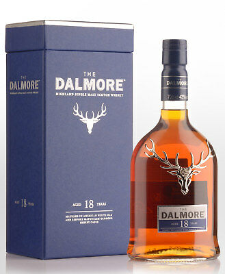 Dalmore 18 Year Old Single Malt Scotch Whisky (700ml)