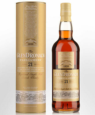 Glendronach 21 Year Old Parliament Single Malt Scotch Whisky (700ml)