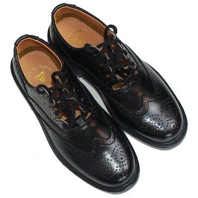 Ghillie Brogues Scottish Kilt Leather Shoes with Leather Sole UK Size 6-12 4Day