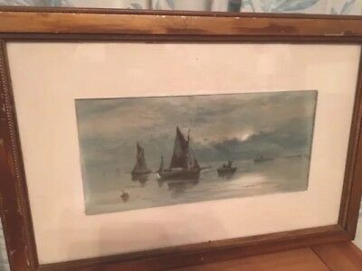 Thomas Mortimer - A pair of Early 19th Century Watercolours Signed By T Mortimer