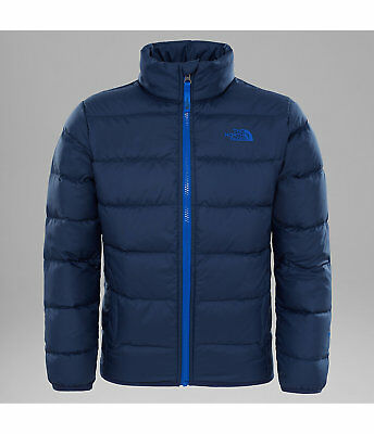 The North Face Boy's Andes Down Jacket (Cosmic Blue)