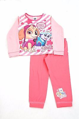 Girls Paw Patrol Pink Stripe Best Pups Long Pyjamas (TDP)