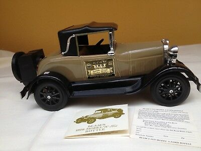 Jim Beam 80% vol. 0,75L Burbon Whiskey 1909Thomas Flyer Oldtimer  Sammleredition