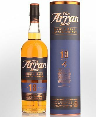 The Arran 18 Year Old Single Malt Scotch Whisky (700ml)
