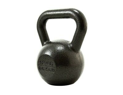 (1 X 12KG) - PROIRON Cast Iron kettlebell Weight for Home Gym Fitness & Weight