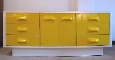 RAYMOND LOEWY STYLE BROYHILL LONG DRESSER mid century chapter one space age