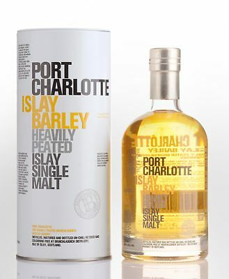 2008 Bruichladdich Port Charlotte Heavily Peated Islay Barley Single Malt Sco...