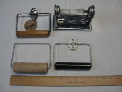 Lot of 4 Vintage Toilet Paper Holders