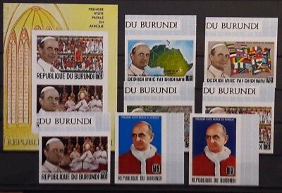 République du Burundi - Lot Mnh** - Etat TB - 1 scan(s) E4894