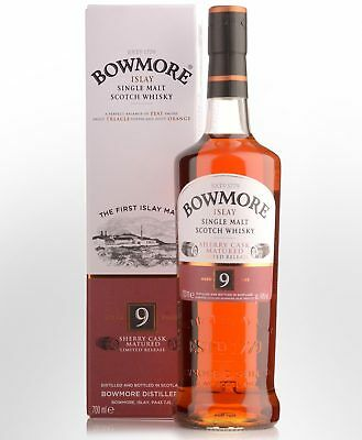 Bowmore 9 Year Old Single Malt Scotch Whisky (700ml)