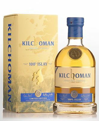 Kilchoman 100% Islay 7th Edition Single Malt Scotch Whisky (700ml)