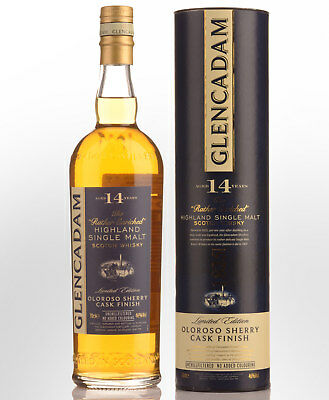 Glencadam Oloroso Sherry Cask 14 Year Old Single Malt Scotch Whisky (700ml)