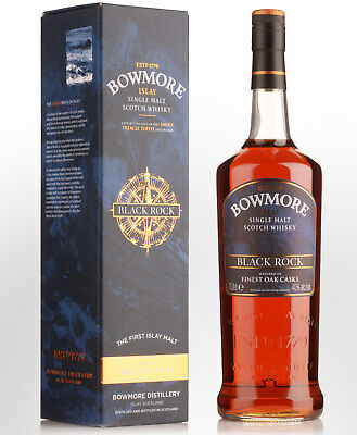 Bowmore Black Rock Single Malt Scotch Whisky (1000ml)